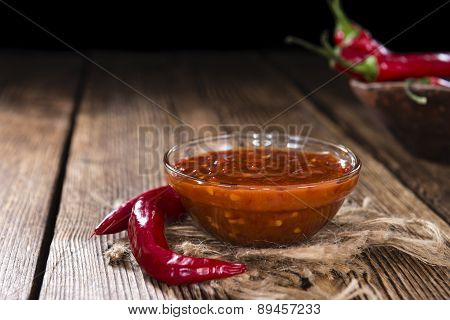 Homemade Sambal Oelek