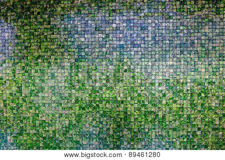 Retro Mosaic Wall