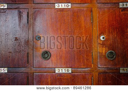 Wood Locker