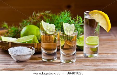 Tequila And Gin
