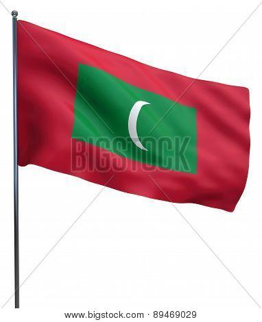Maldives Flag Image
