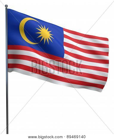 Malaysia Flag Image