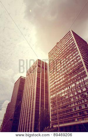 Buildings In Sao Paulo.