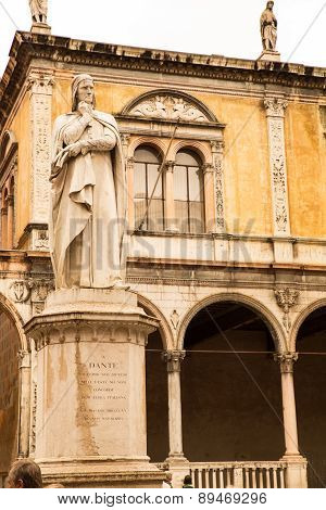 Ancient Statue In Verona