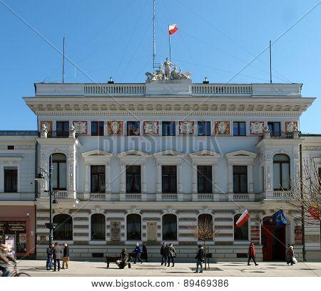 Juliusz Heinzl's Palace in Lodz.