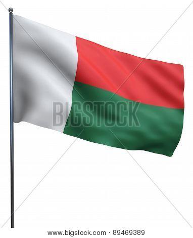 Madagascar Flag Image