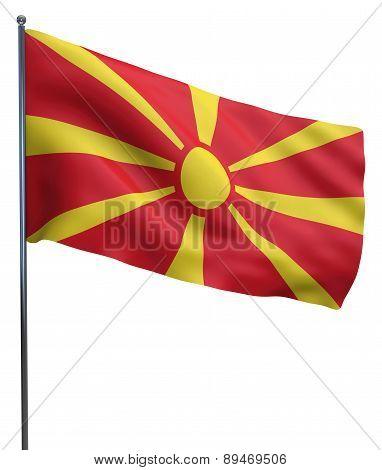 Macedonia Flag Image