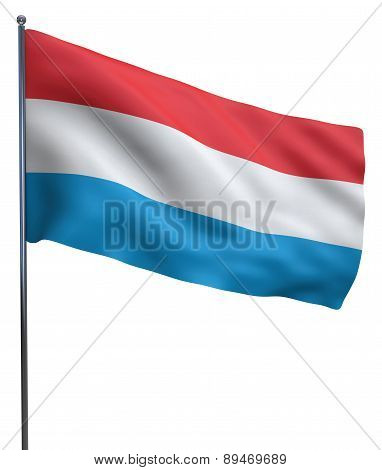 Luxembourg Flag Image
