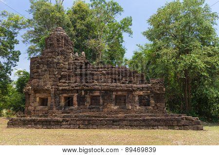 Hindu sanctuary situated name Tamuen stone castle