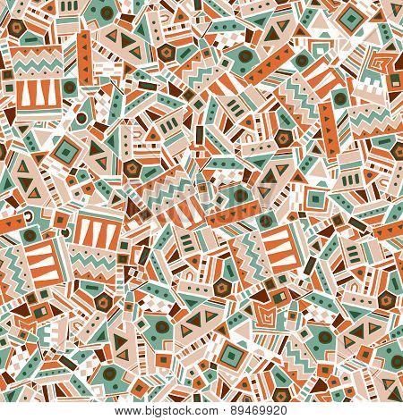 Ethnic seamless pattern. Vector illustration
