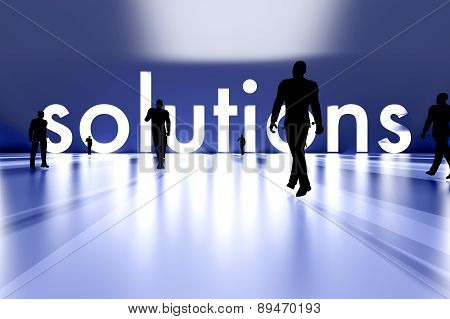 Walking Towards The Solution