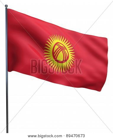 Kyrgyzstan Flag Image