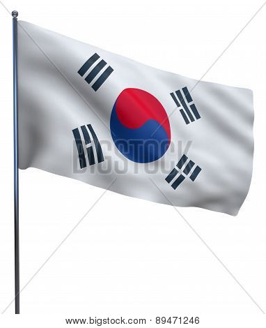 South Korea Flag Image