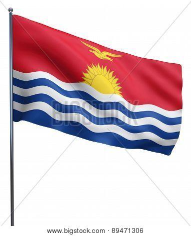Kiribati Flag Image