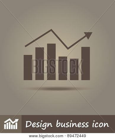 Flat Line Icon Illustration