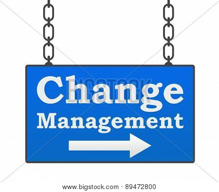 Change Management Signboard
