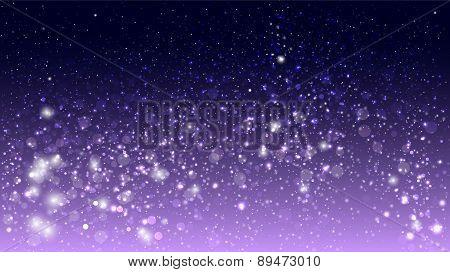 Magic glow and bokeh