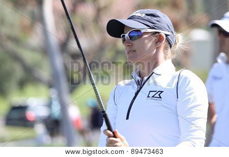 sarah jane smith at the ANA inspiration golf tournament 2015