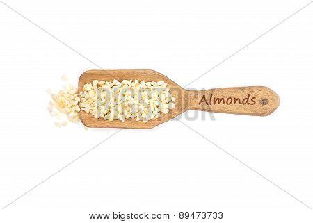 Almonds On Shovel