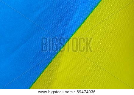 Ukrainian Flag Macro