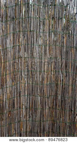 Bamboo Wall Fence Vertical