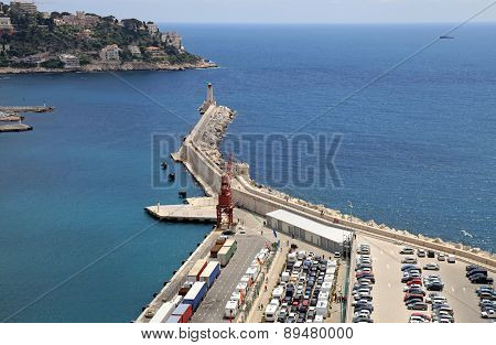Port Of Nice, French Riviera, France