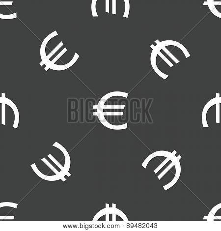 Euro symbol pattern