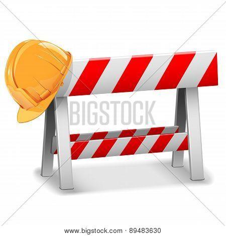 Vector Barrier with Helmet
