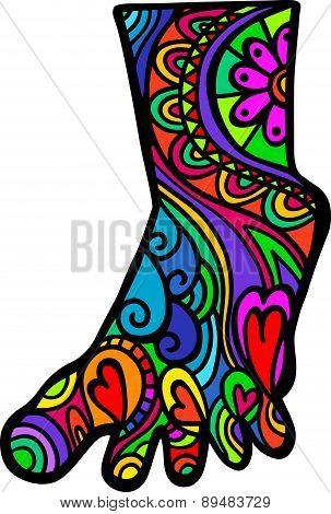 Foot Doodle