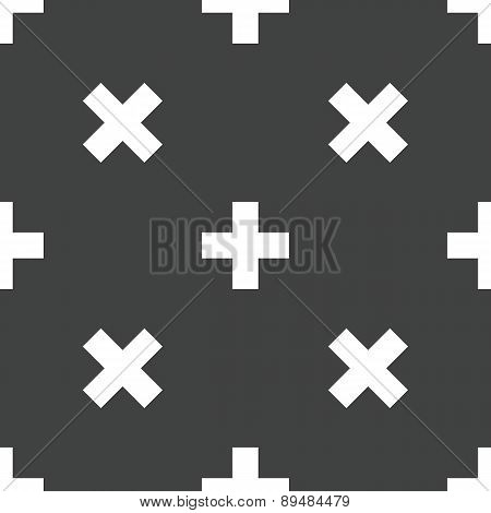 Plus symbol pattern