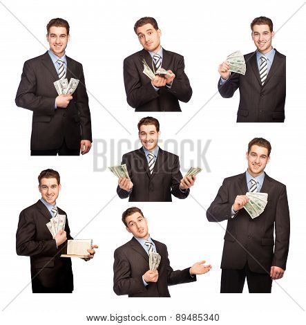Man With Money Set