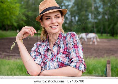Beautiful Cowgirl.