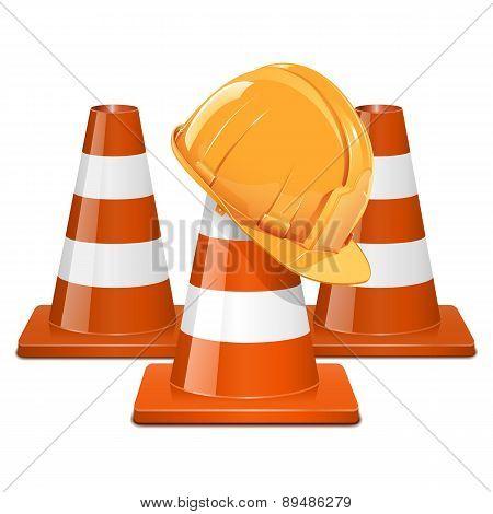 Vector Cones with Helmet