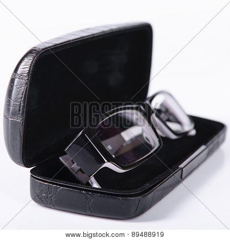 Optical Glasses In A Case