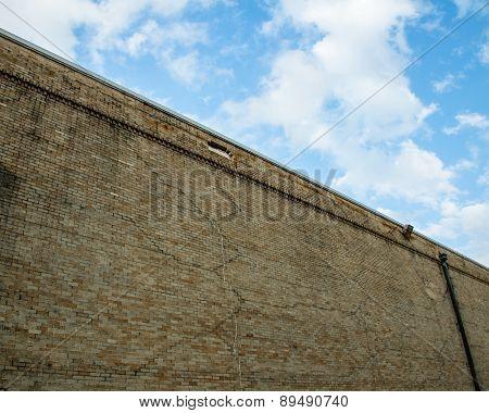 ZigZagged Brick Wall
