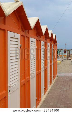 Beach ?hanging cabins