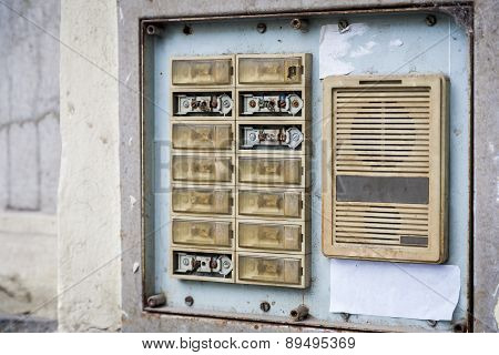 Old intercom.