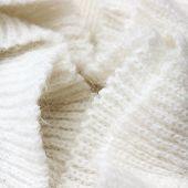stock photo of knitwear  - Knitwear white texture - JPG
