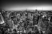stock photo of skyscrapers  - New York City - JPG