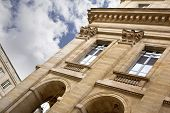 picture of bordeaux  - Facade of the Opera of Bordeaux France - JPG