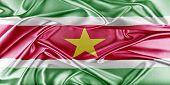 stock photo of suriname  - Suriname Flag - JPG