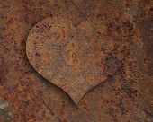 picture of spatial  - Colorful and crisp image of heart of rust - JPG
