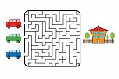 pic of track home  - Maze game for children - JPG