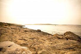pic of nightfall  - Photo of nightfall in Bugibba in Malta Europe - JPG