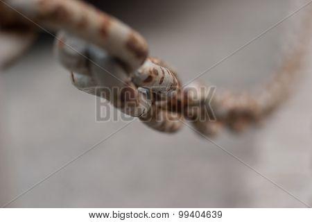 Gray Rusty Chain