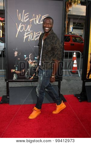 LOS ANGELES - AUG 20:  Aldis Hodge at the