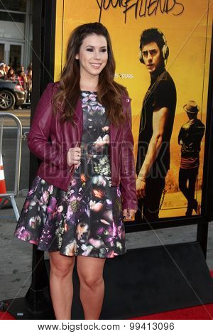 LOS ANGELES - AUG 20:  Jillian Rose Reed at the