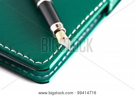 Pen On Notebook