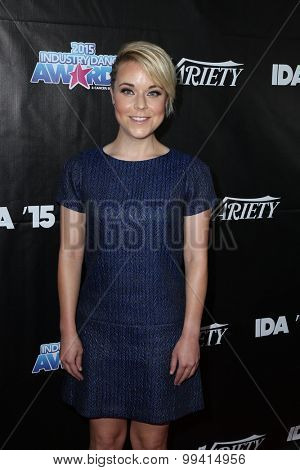 LOS ANGELES - AUG 19:  Tina Majorino at the 2015 Industry Dance Awards and Cancer Benefit Show at the Avalon on August 19, 2015 in Los Angeles, CA