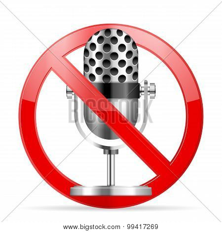 Prohibition Microphone